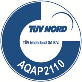 Logo AQAP2110 TuV